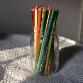 Prisma Colored Pencils.